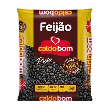 Feijão Preto T1 Caldo Bom 1Kg