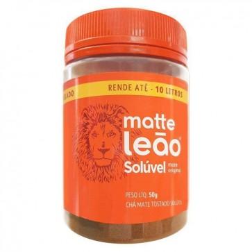 Chá Matte Leão Solúvel Pote 50g