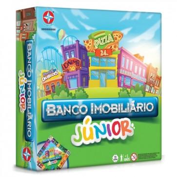 Banco Imobiliário Junior Estrela