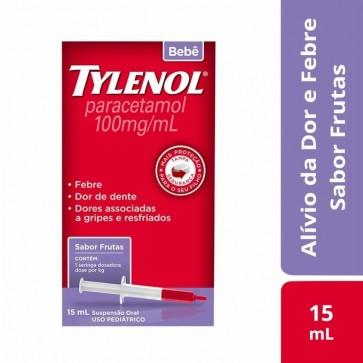 Analgésico Tylenol® Bebê Líquido 15ml