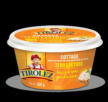 Queijo Cottage Zero Lactose Tirolez 200g