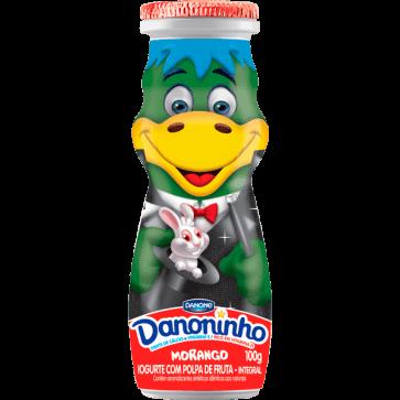 Iogurte Danoninho Danone Morango 100g