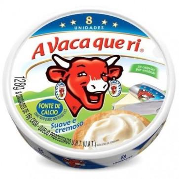 Queijo Processado a Vaca que Ri com 8 unidades 128g
