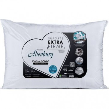 Travesseiro 50x70cm ExtraFirme Microfibra Altenburg