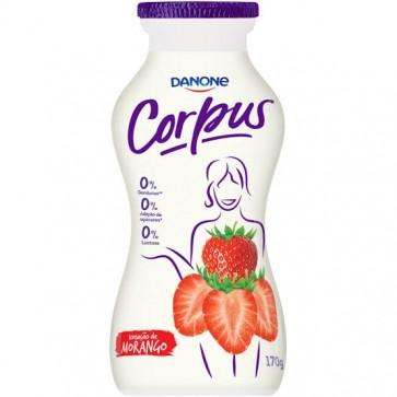 Iogurte Corpus Morango zero 170 g