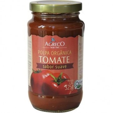 Polpa Tomate Agreco Suave Orgânico 325g