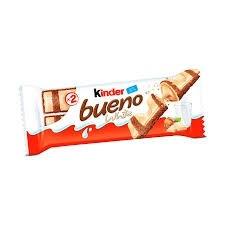 Chocolate Kinder Bueno White 39g
