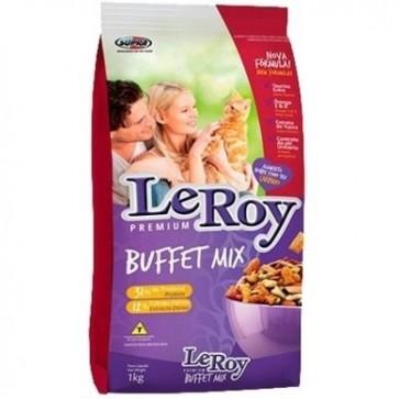 Ração Para Gato Leroy Buffet Mix 1kg