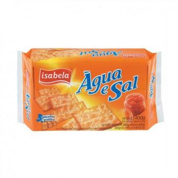 Biscoito Agua e Sal Isabela 400g