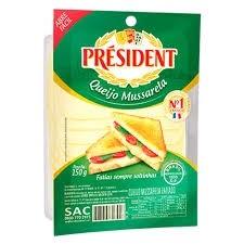 Queijo Mussarela fatiado President 150g