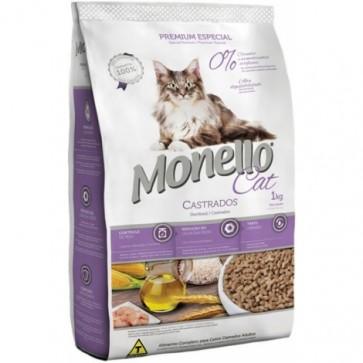 Ração Para Gato Castrado Monello 1kg