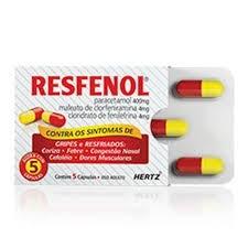 Resfenol 05 capsulas av