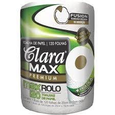 Toalhas de Papel Clara Max Premium 120 folhas