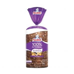 Pão 12 grãos Nutrella/Pullmann 450g