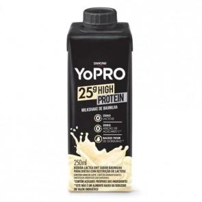 Bebida Láctea Danone Yopro Baunilha Zero Lactose 25g High Protein 250ml