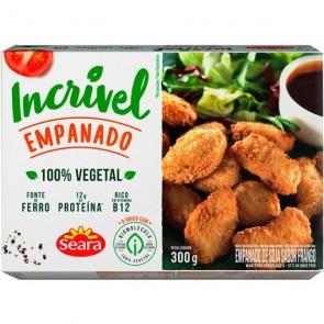 Empanado de Soja Incrível Seara 100%Vegetal 300g