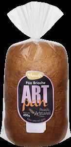 Pão Brioche Art Pan Amalfi 450g