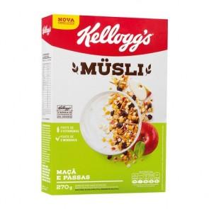 Cereal Musli Maça/Passas Kellogg's 270g