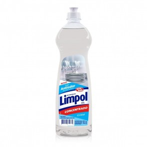 Detergente Gel Limpol Cristal 511g