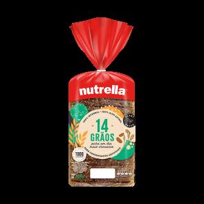 Pão 14 Graos Nutrella450g