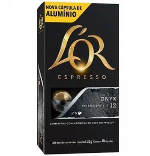 Cápsulas café Lór Espresso Onyx 10 und