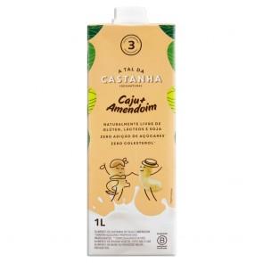 Alimento A Tal da Castanha Caju+Amendoim 1L