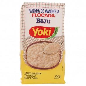 Farinha de Mandioca Flocada Biju Yoki 500g