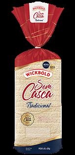 Pão Sem Casca Tradicional Wickbold 450g