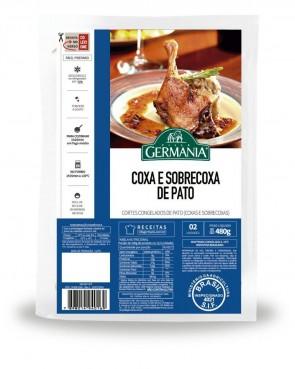 Coxa e Sobrecoxa de Pato Congelado Germania 450g