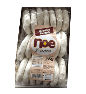 Biscoito Noe Rosquinha Glaceada 380g
