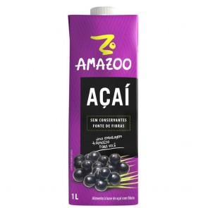Alimento Açaí  Tradicional Amazoo 1L