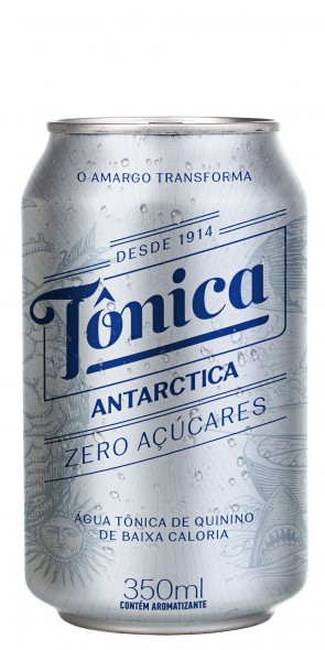Água Tônica Antartica ZERO Açúcar 350ml