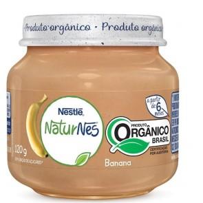 Alimento Infantil Nestlé Banana Orgânico 120g