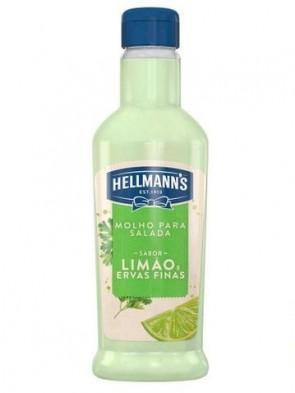 Molho Salada Hellmanns Limão e Ervas Finas 210ml