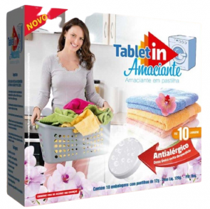 Amaciante Pastilha Tablet In 120g