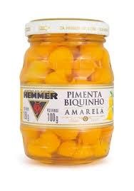 Pimenta Biquinho Amarela Hemmer 100g