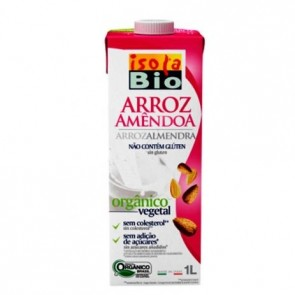 Bebida Arroz com Amendoas Isola Bio 1L