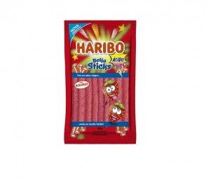 Bala Haribo Sticks Ácido 80g