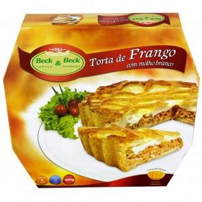 Torta de Frango c/ Molho Branco Beck&Beck 600g