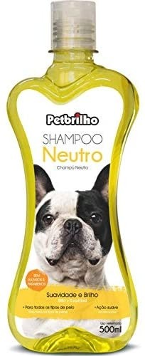 Shampoo Neutro 500ml PetBrilho