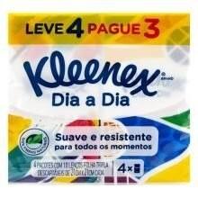 Lenço Bolso Kleenex Dia L4P3 40 folhas