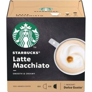 Café  Starbucks Latte Machiatto 12 cápsulas 129g