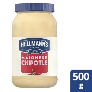 Maionese Chipotle Hellmanns 500g