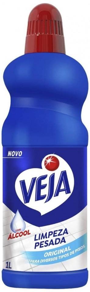 Limpador Veja Limpeza Pesada Original c/álcool 1L
