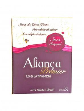 Suco de Uva Tinto Integral Aliança 3L