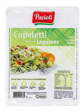Capeletti Legumes Pavioli 250g