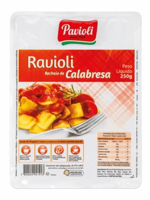 Ravioli Calabresa Pavioli 250g