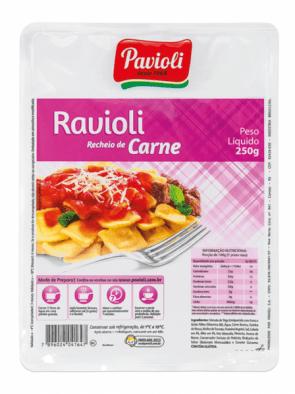 Ravioli Carne Pavioli 250g