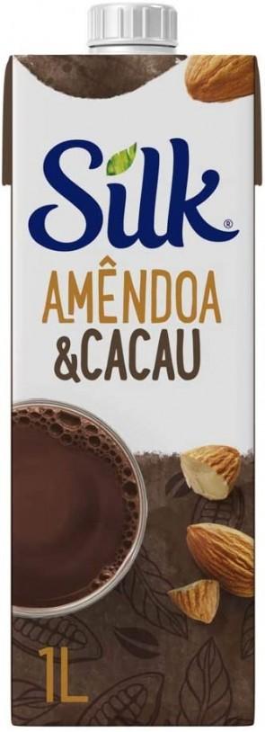 Bebida Silk Amendoa e Cacau 1L