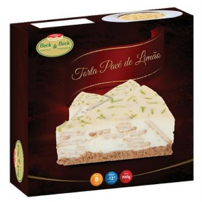 Torta Pave de Limão Beck Beck 700g
